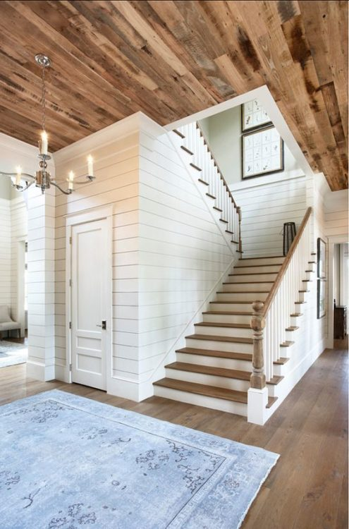 Barn Wood Basement Ceiling Ideas