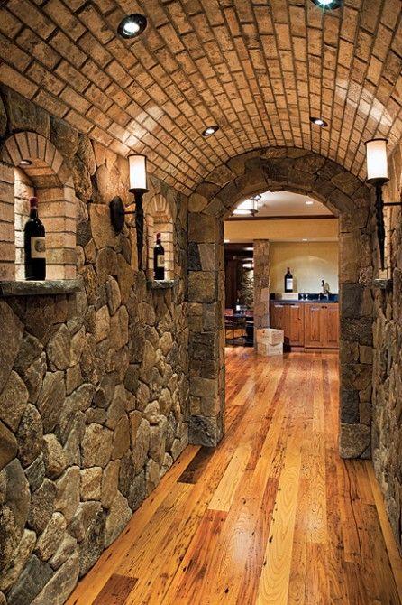 Classic Brick Cement Basement Ceiling Ideas