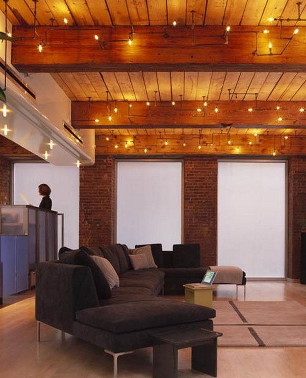 Pallet Wood Basement Ceiling Ideas