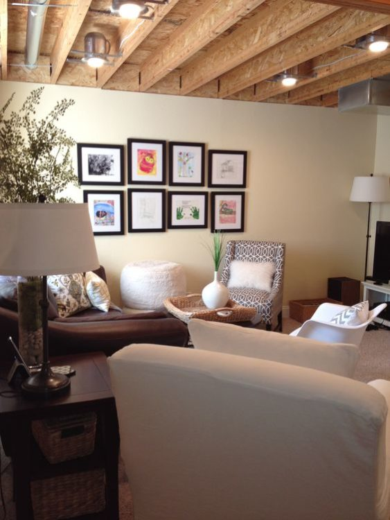 Plywood Basement Ceiling Ideas