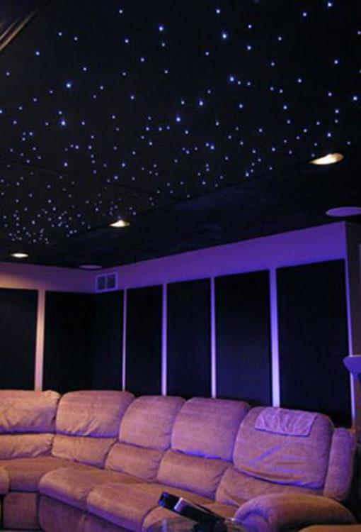 Starry Night Basement Ceiling Ideas