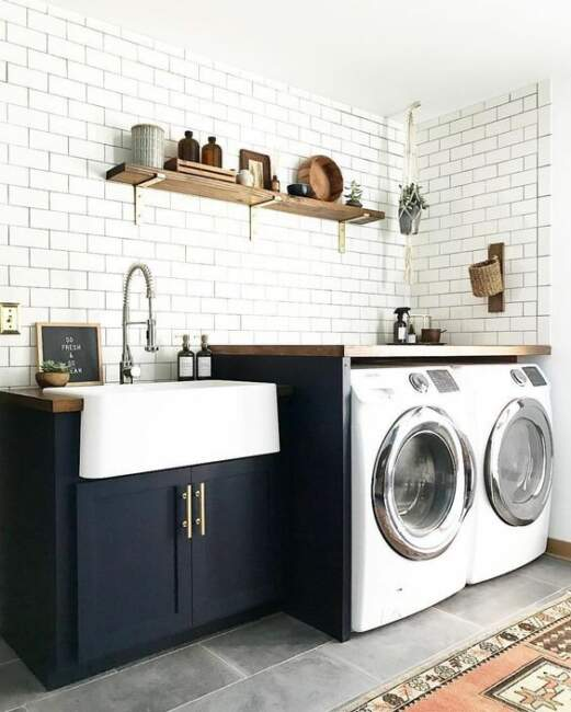 farmhouse laundry room decor ideas