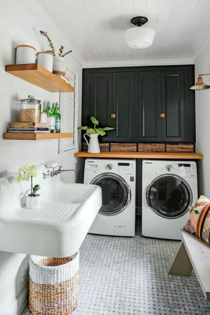farmhouse laundry room decorating ideas