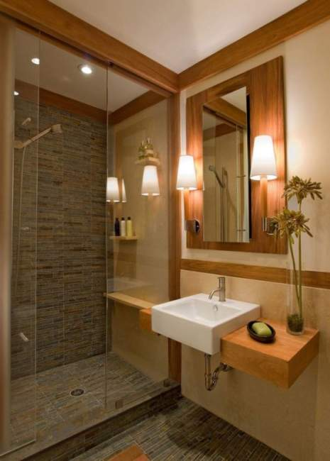 Contemporary Basement Bathroom Ideas