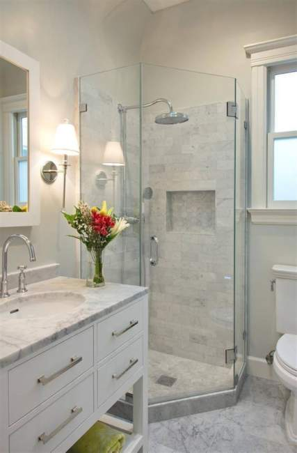 Marble Basement Bathroom Ideas