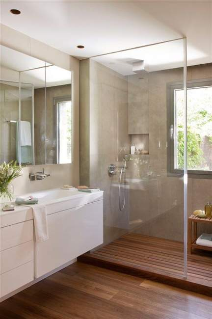 Natural Light Basement Bathroom Ideas