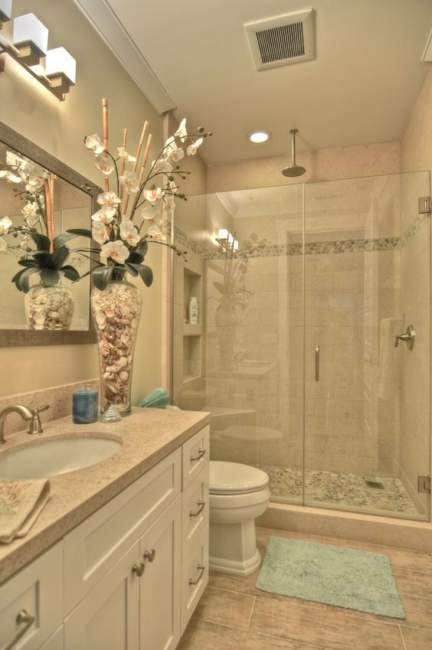 Shabby Chic Basement Bathroom Ideas