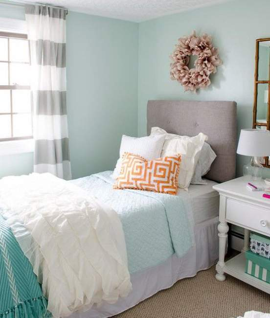 innovative blue white bedroom ideas teenage girls | 25+ Fascinating Teenage Girl Bedroom Ideas with Beautiful ...