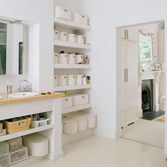 E Saving Small Bathroom Wall Storage Ideas