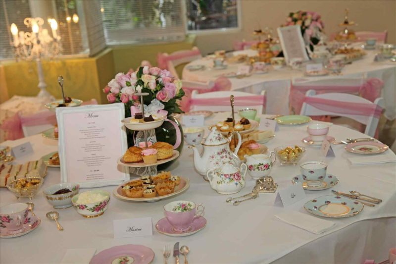 Party tea new ideas for wedding